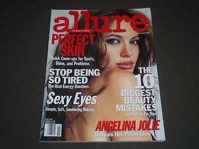 2004 NOVEMBER ALLURE MAGAZINE - ANGELINA JOLIE - FASHION COVER - O 8240