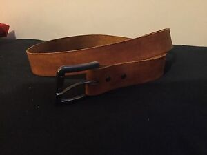 Custom fitted quality leather belts