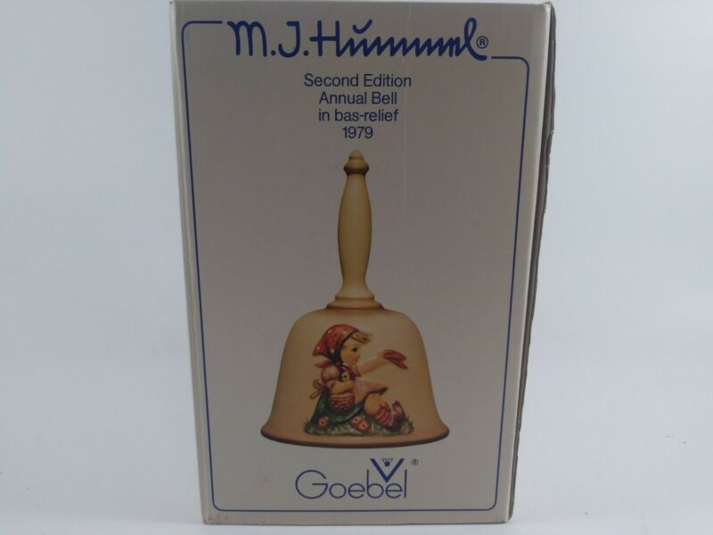 MJ Hummel Second Edition Annual Bell 1979 Goebel - #701 IN BAS-RELIEF GERMANY