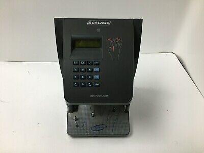 Schlage Handpunch 2000 Biometric Hand Reader Time Clock Parts Only