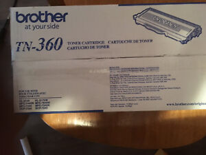 Brother Toner Cartridge TN-360 (New in Box). $50 firm