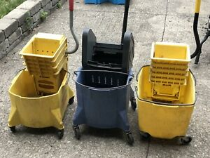 Commercial Mop Buckets