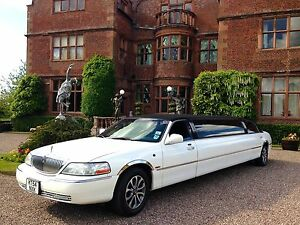 wedding car, limousine hire, Blue Crush limo, wedding hire based in walsall