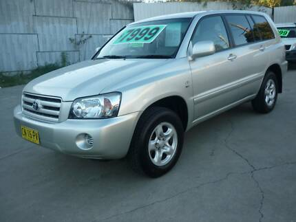 2004 Toyota Kluger Wagon LONG REGO THIS WEEK SPECIAL Granville Parramatta Area Preview