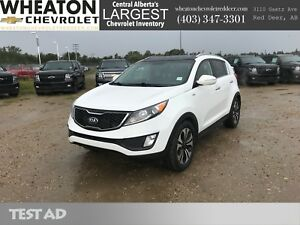 2013 Kia Sportage SX - Navigation, Backup Camera, Sunroof