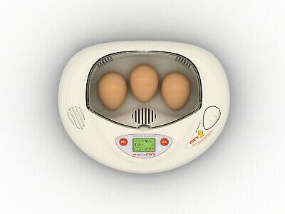 Rcom Pro Mini Px03 Egg Incubator 7 Small Egg Tray Auto. Programmed New Us 110v