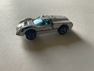 Vintage Hot Wheels Redline 1968 Ford J Car White Enamel Hong Kong