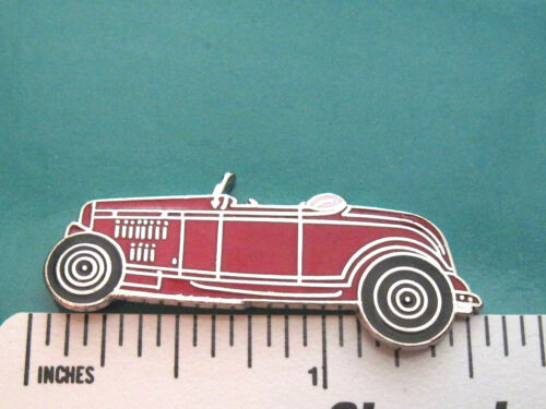 32 1932 FORD roadster Hi-boy - hat pin , tie tac , lapel pin , hatpin GIFT BOXED