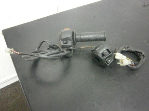 Yamaha YZF R125 2012 Switch Gears & Throttle PAIR LHS & RHS