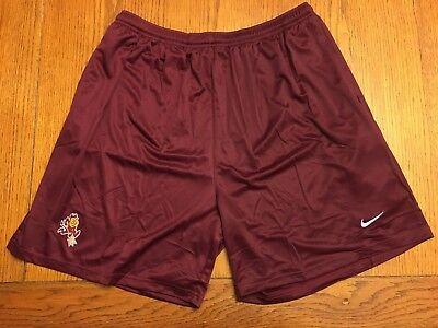 NIKE Arizona State University ASU Sun Devils Maroon Shorts Size 3XL / XXXL Men's
