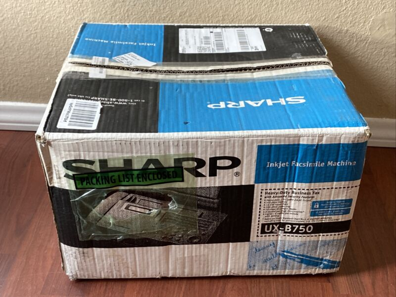 Sharp Plain Paper Inkjet Fax UX-B750 - New - Open Box