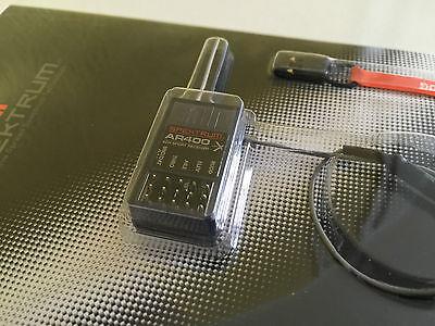 Spektrum AR400 4-Kanal DSMX Flug Empfänger mit voller Reichweite! SPMAR400! Neu!