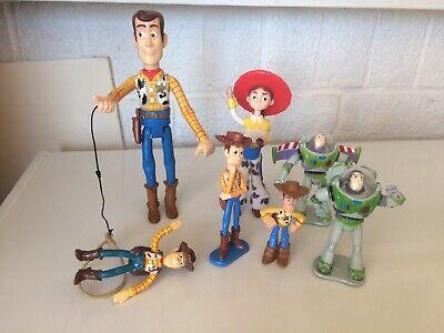 Disneys Toy Story Figures Woody, Jessie And Buzz