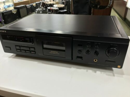 Sony TC-KA1ESA Single ES Stereo Cassette Deck Ceramic Holder Audiophile HiFi
