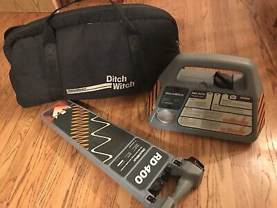 Ditch Witch Subsite Rd 400 Cable Pipe Utility Locator Utiliguard