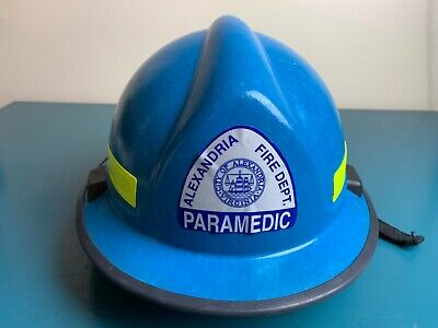 Morning Pride Rh-plus Fire Firefighter Paramedic Rescue Helmet W Goggles