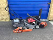 Lawn Mower, Blower Vac and Chainsaw Hillsdale Botany Bay Area Preview