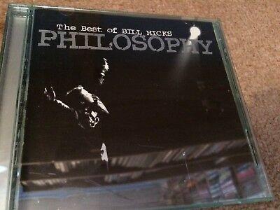 BILL HICKS - PHILOSOPHY: THE BEST OF BILL HICKS (CD ALBUM) (Best Of Bill Hicks)
