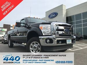 2016 Ford F-250 Lariat | 6.2L GAS, 4x4, PACKAGE FX4, CUIR