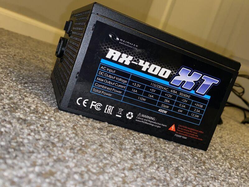 Raidmax XT Series RX-400XT 400W Power Supply