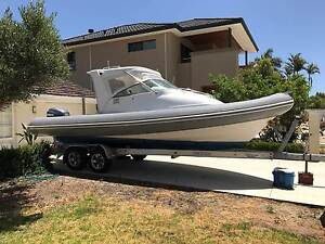 RIB, AQUAPRO RAIDER 790 on ALLY tandem TRAILER Fremantle Fremantle Area Preview
