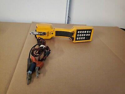 Fluke Ts22a.4 Telephone Speaker Phone Test Set Butt Set W Piercing Pin Clips F3