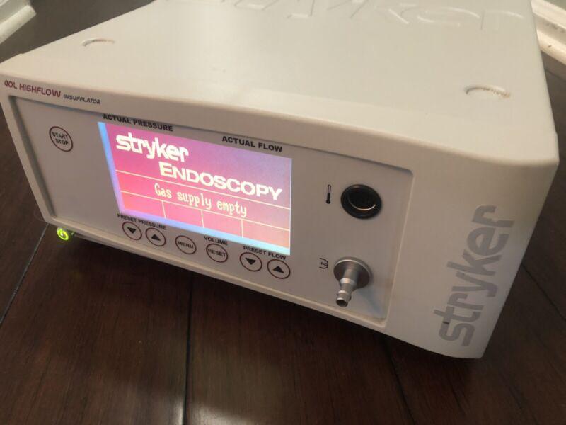 Stryker 40 L Core High Flow Insufflator 620-040-503 W/ Low Flow Mode