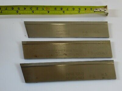 3 - Empire P-8 Lathe Cut-off Tool Blade 1 18 X 316 53