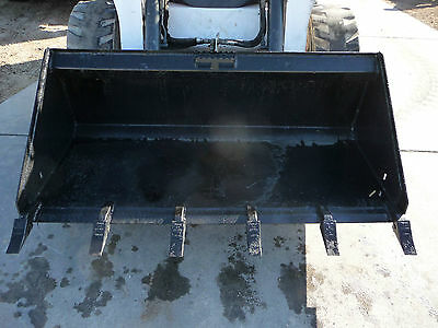 Bobcat Skid Steer Attachment 66 Low Profile Tooth Bucket -shipping Cost Is 199
