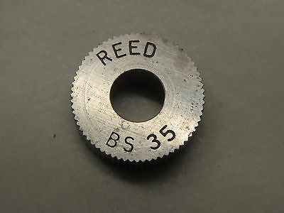 Reed Knurling Wheel Bs35 58-od 14-id 14-w