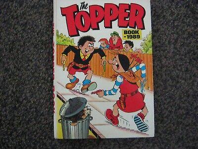 THE TOPPER BOOK 1989 ANNUAL original