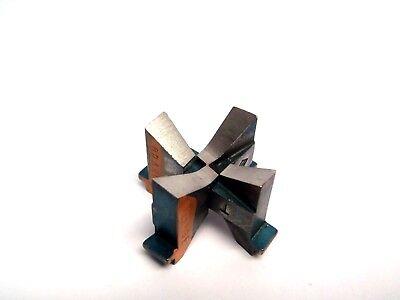 Set Of 2 Semtorq Fc Series Orange Cutter Blades For Tip Dresser Cutter Welder