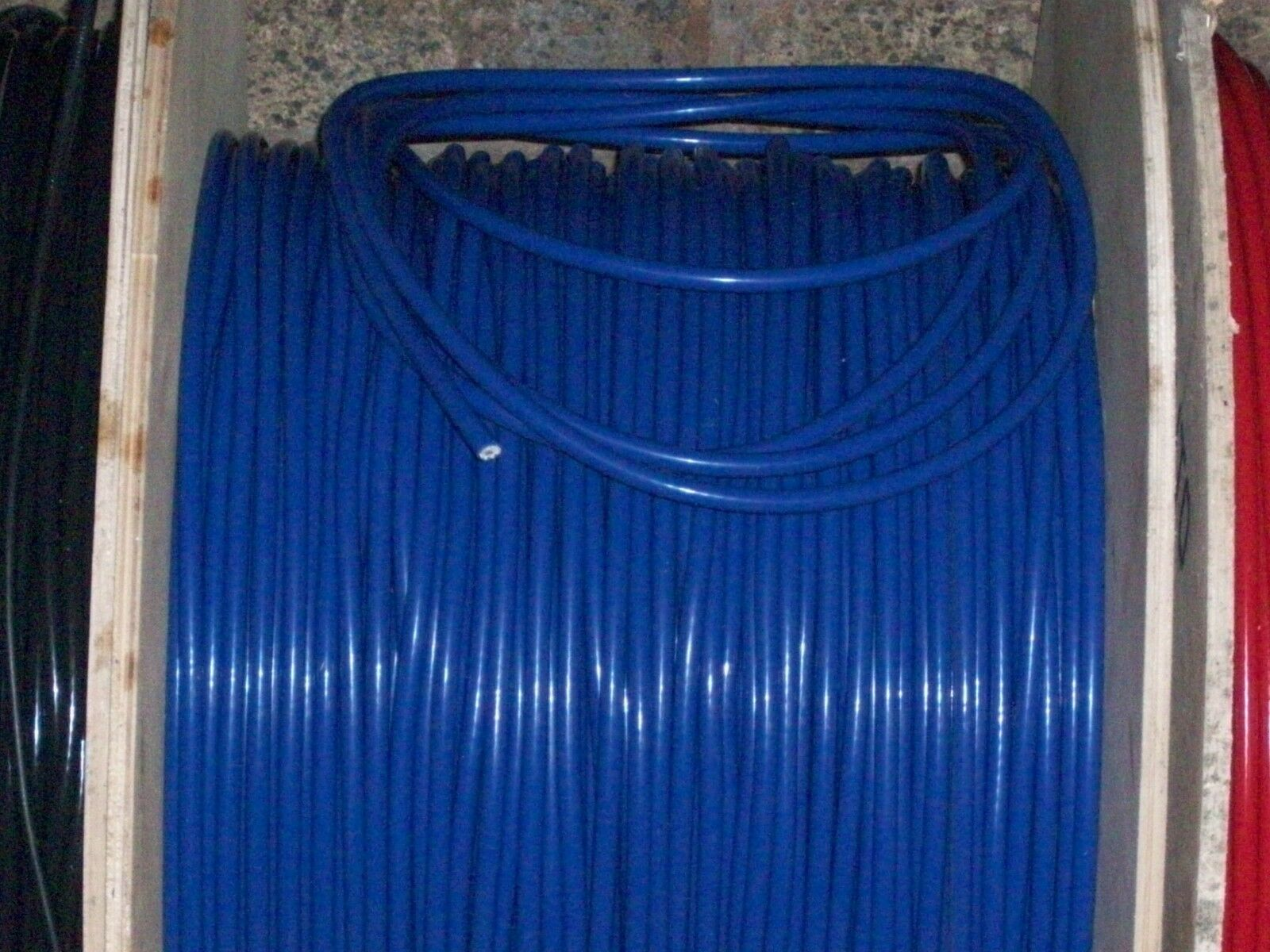 Bleu 8.5 mm Performance Ignition Leads Pour 205 309 1.9 Sri GTi Hei Cap Qualité HT