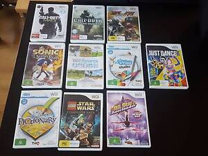 Wii Games Various Titles Forrestdale Armadale Area Preview