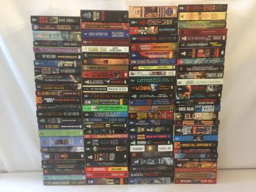 Sci-Fi Novels Zahn Varley Czerneda Herbert Pohl Paperback Collection Lot of 103