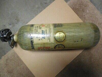 Scott Scba Bottle Air-pak 4500 Psi 45 Min 2003 Free Ship Cga 347 Pcp Air Gun