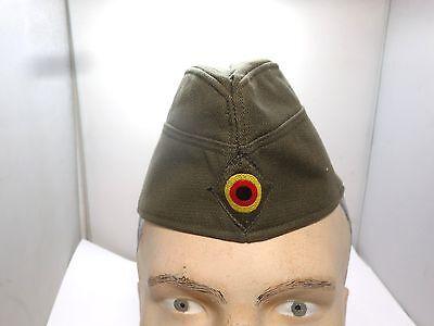 GENUINE GERMAN ARMY GREEN BSCHMIDT HARLIED SERVICE SIDE CAP SIZE 59