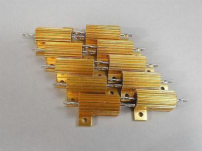Lot Of 10 Pacific Power Resistor 25w 15 - New