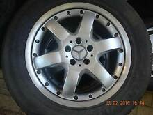 Mercedes Other 4x4 TYRE AND RIM 285/50R18 109 V 2 SPARE ONLY Wilson Canning Area Preview