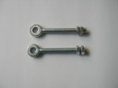 2 adjustable gate eyes / hanger to fit a 10mm pin it has a  75mm long thread