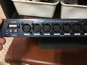 Tascam US-1641 16 channel USB recording audio interface