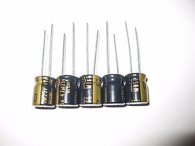 Nichicon ukz1e470mpm Muse KZ for audio Hi-Fi 47uf 25v 10x12,5 rm5 #bp 4 PCS