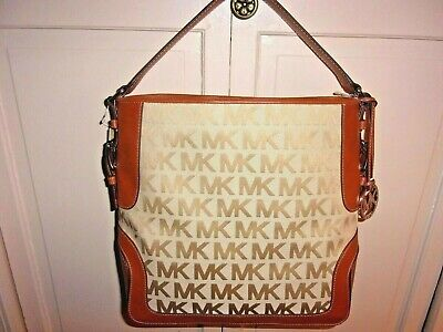 New MICHAEL KORS Signature Handbag Purse *Brookville