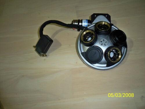 Nikon Faulhaber 6300-0490-01 motorized microscope objective turret