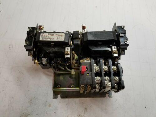 GE NEMA SIZE 1 REVERSING MOTOR STARTER 120 VAC COIL 27 AMPS 10 HP CR309C0***ADFC