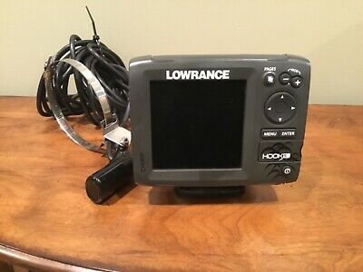 Lowrance Hook-5 CHIRP - GPS - Chartplotter - Fishfinder - With Transducer