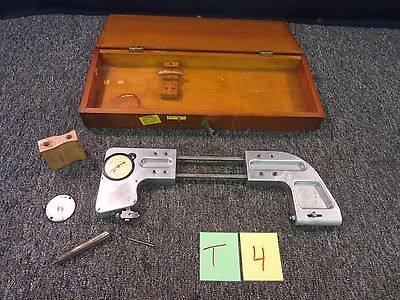 Federal Dial Large Snap Gage 9 10 .0001 Metal Cnc Inspection Tool C21 Used