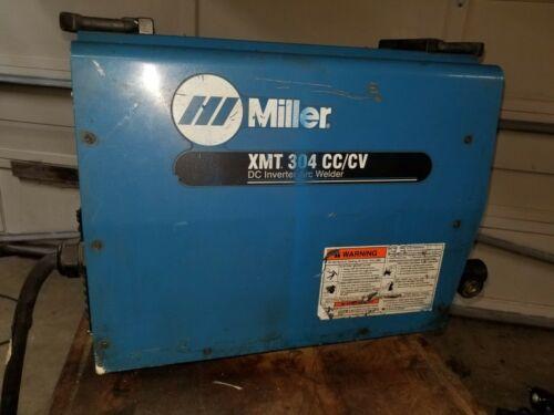 Miller XMT 304 CC/CV DC Inverter Arc / Tig / Mig Welder LOAD BANK Tested