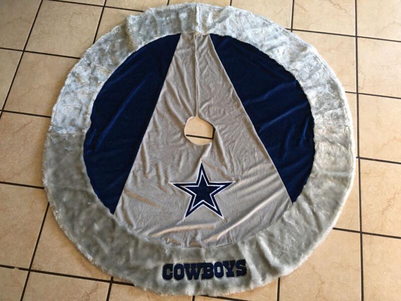 55' Dallas Cowboys Christmas Tree Skirt