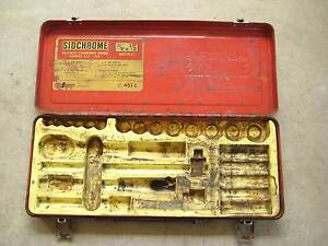 Vintage Sidchrome Socket Set Metal Case ' Very Old ' Cabramatta West Fairfield Area Preview